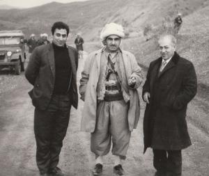 Mulla Mustafa al Barzani Aziz Sharif Issam Aziz Sharif 1970
